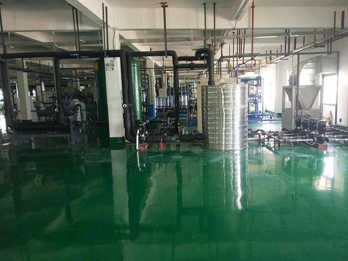 江西鸿利光电——工业超纯水系统工程